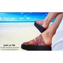 Sandalias Verano 2016 Con Tiras Elasticas Modelo Ser Feliz