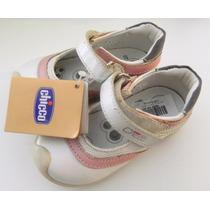 Zapatos Sandalias Cuero Nena Chicco Giralda Importado Europa