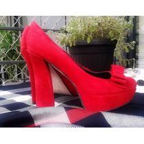 Zapatos Plataflorma Pin Up
