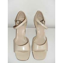 Zapatos De Mujer American Pie Cuero Nº 35 Crema Oferton!!!