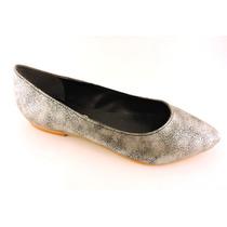 Chatitas Sandalias Zapatos Bajos Colores Brillo Chatas Promo