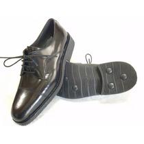 Zapato Para Uniformes De Gala Base Goma Febo
