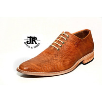 Zapato Alta Gama - Jr Boots & Shoes - Art. 1312 Grabado Igua