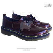 Zapatos Charol Bordo, Excelente Calidad, Super Comodos!