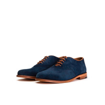 Zapatos Cuero Gamuza Walkin Berlin - Baker Shoes - Talle 39