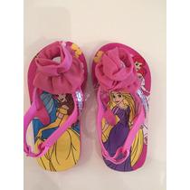Sandalias Princesas Disney Store. Original. Nuevas.
