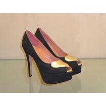 Zapatos Stilletos Taco Fino Plataforma Mujer Prim/ver 2016