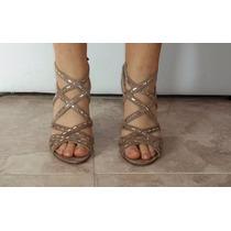 Sandalias De Fiesta Prune Divinas