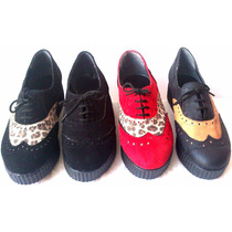Liquidacion Oferta !!! Zapatos Con Plataforma, Creepers