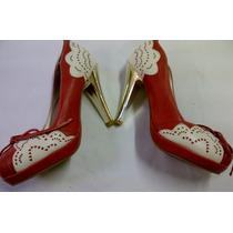 Zapatos Taco Alto!! Hermosos ! (importados Nuevos Únicos)