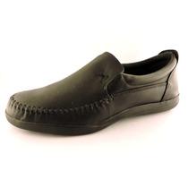Zapatos Hombre Cuero Goma Mocasin Vestir Sport Dia Del Padre