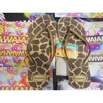 Ojotas Hawaianas De Dama Estampadas!! 100% Originales!!