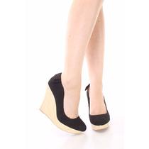 Zapatos Nuevos Plataforma Negros Importados Qupid Talle 38