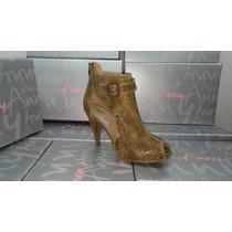 Zapatos De Mujer Botitas Anny Cuero Botas Blablablá Calzados