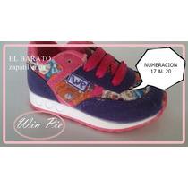 Zapatillas Zapatos Infantiles Bebe Nena Varon