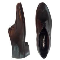 Zapatos Hombre Cuero Calzado Vestir Elegante Cordones Tramad
