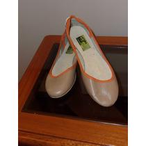 Chatitas Ballerinas Nr 35 Color Tostado