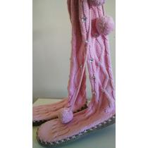 Nuevas! Botas De Lana Victorias Secret Pink Importadas