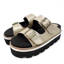 Sandalias Birkenstock Con Plataforma Zapato Primavera Verano