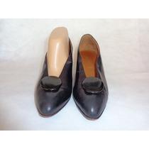 Mishka Zapato Cuero Negro