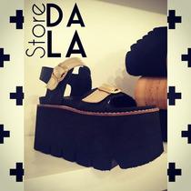 Sandalias Zapatos Plataforma By Dala_store