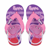 Ojotas Peppa Pig Licencia Original Footy - Mundo Manias