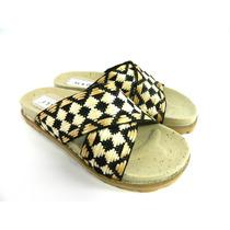 Zuecos Zapatos Mujer Cuero Verano Plataforma Magali Shoes