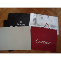 Bolsas P/regalo Cartier,sarkany,valentino Gigantes P/unidad!