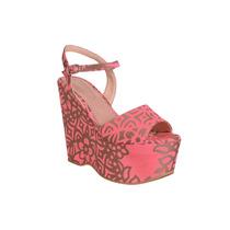 Zapato Sandalia Con Plataforma Taco Alto De Mujer Andrea Bo