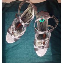 Sandalias Zapatos Importados Raso Nuevos!! Sin Uso