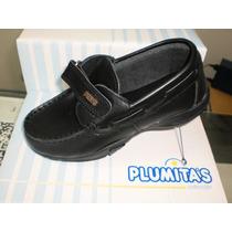Zapato Plumitas Colegial Cuero Cuero