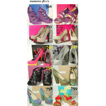 Zapatos Importados Varias Marcas Talle 38 1/2