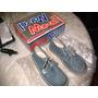 Zapatos Niño Marcel Gris Azulino Talle 26 Acordonado En Caja