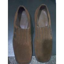 Zapatos De Gamuza, Marca Guante, Número 42, Exelentes !!!