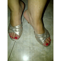 Zapatos Color Peltre Aldo Importados De Usa - Talle 37