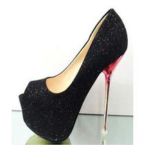 Zapatos Importados Brillosos Ideales Para Fiesta - Divinos!!