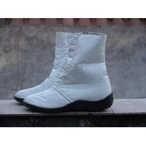 Botas Color Blancas, Negras Y Chocolate. Ultimo Pares!!!!