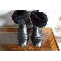 Botas Cuero Hush Puppies - Negro - Talle 37