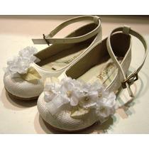Zapatos Nenas Beba, Bautismo, Comunion, Cortejo.n° 18 Al 37
