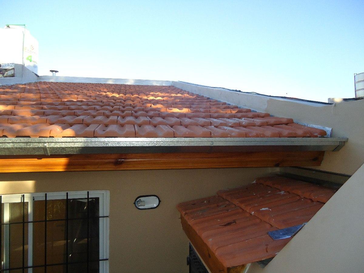 Zingueria canaletas de chapa para techo desagues for Modelos de techos de chapa
