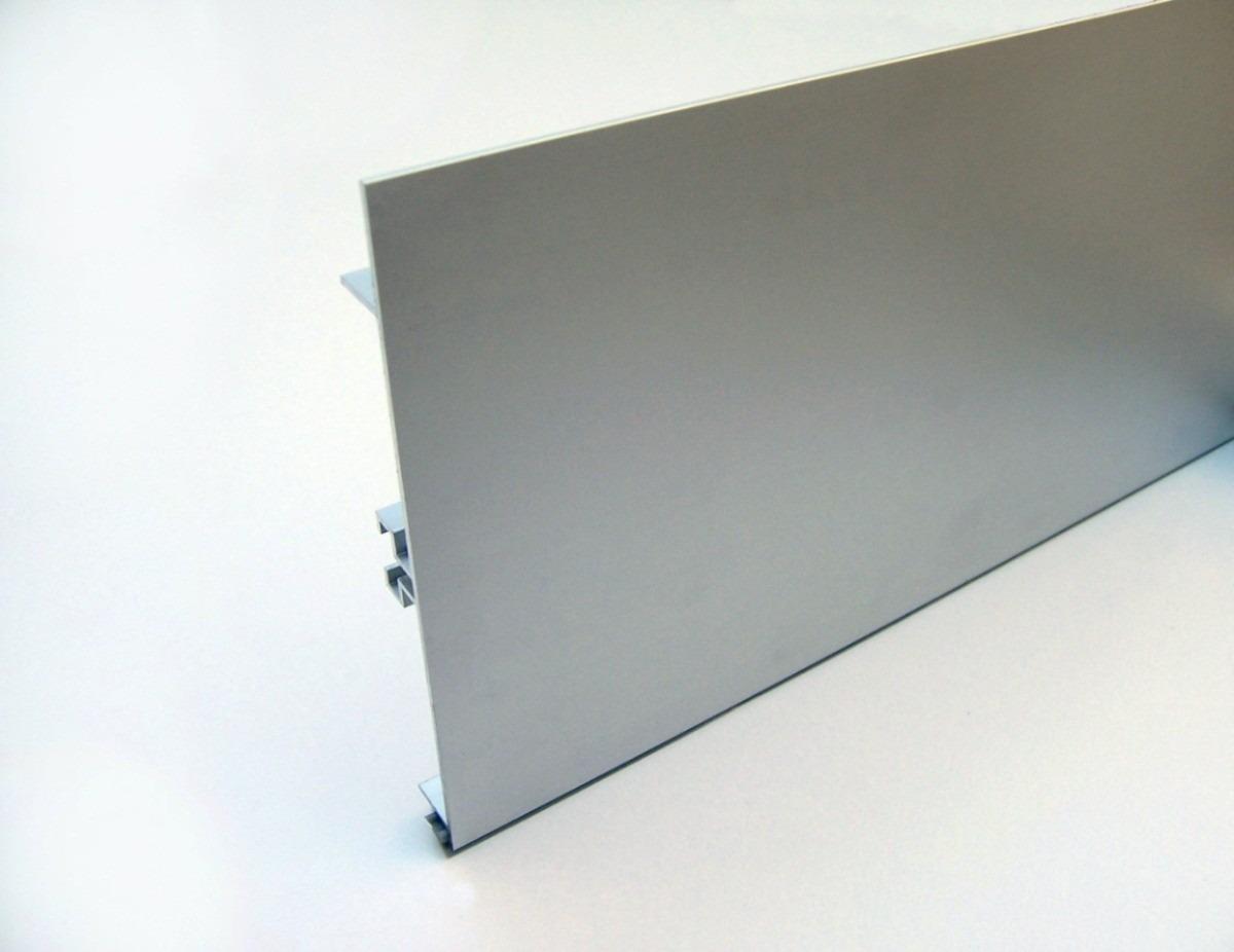 zocalo aluminio: