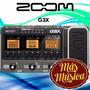 Zoom Pedalera G3x Para Guitarra Electrica