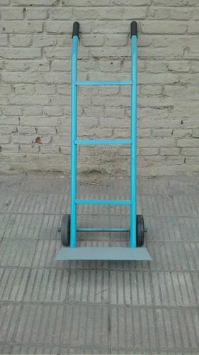 Zorra Carro Porta Bultos Con Ruedas Macizas En Lanus Fabrica