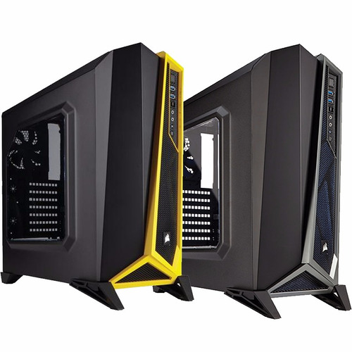 Gabinete Pc Gamer Corsair Spec Alpha Ventana Usb3 Mid Atx