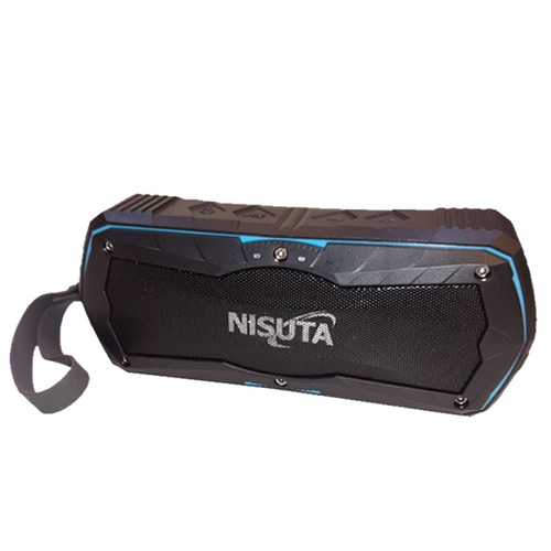 Ns-pa20b: Parlante Portátil Nisuta Bluetooth Ext Power Bank