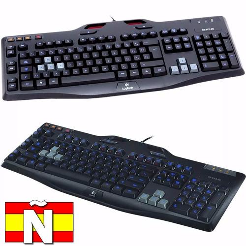 Teclado Gamer Logitech G105 Retroiluminado Macros Español