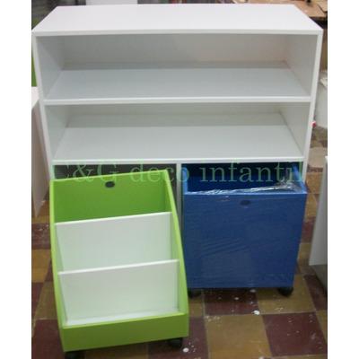 Mueble Cubos Baul Guardajuguetes Organizador Infantil
