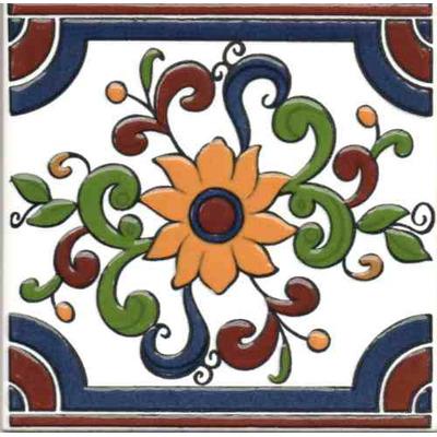 Azulejos mayolicas soy fabricante 75 0 ceramikero - Azulejos con flores ...