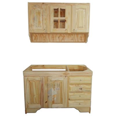 Bajo mesada alacena en 1 20m pino macizo muebles - Muebles para cocina economica ...