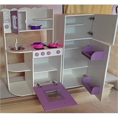 Cocinita infantil de madera luz cocina juguete casita juegos 3900 0 juegos muebles y - Muebles para juguetes infantiles ...